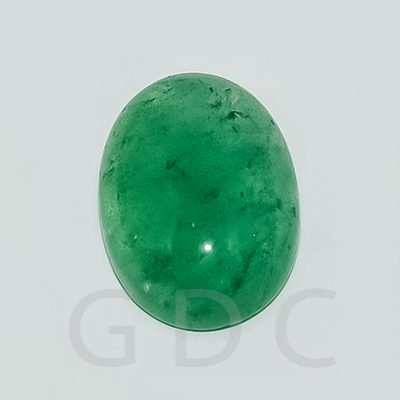 Green Quartz Oval